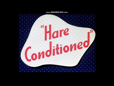 Looney Tunes - Hare Conditioned (1945) Opening Title \u0026 Closing [Golden Collection Volume 2]