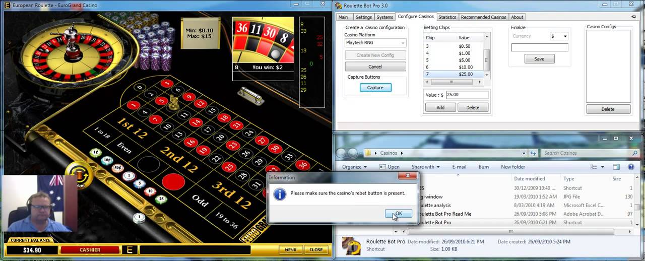 Free roulette bot v3.0 internet gambling website