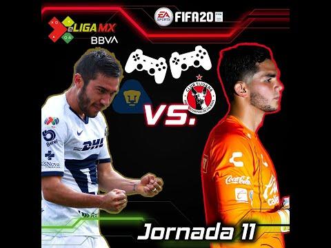 #eLIGAMX Jornada 11 - Pumas Vs Xolos