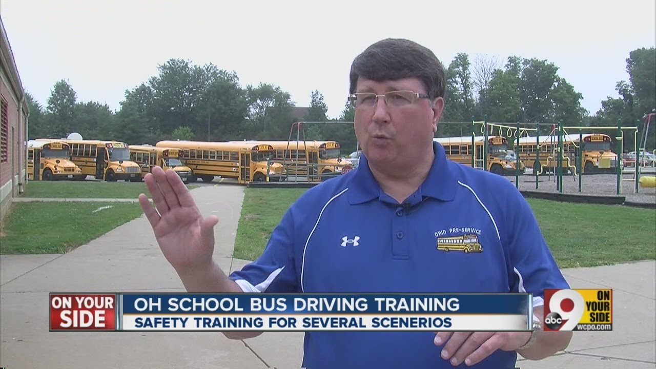 how to become a school bus driver in ohio