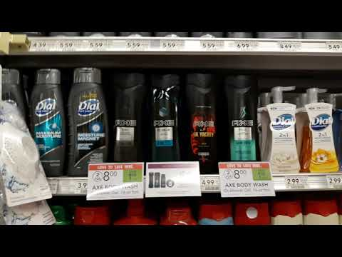 Axe Deodorant Or Body Wash $1.50 At Publix