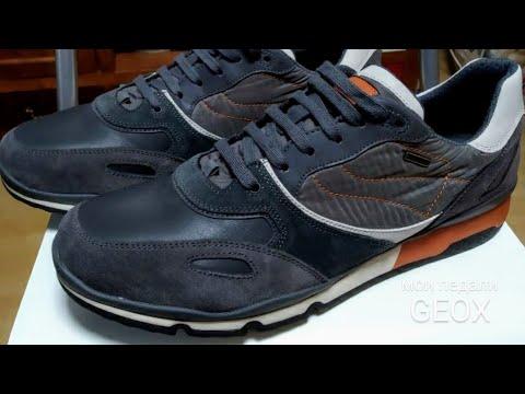 GEOX U SANDFORD B ABX A  Обзор кроссовок.