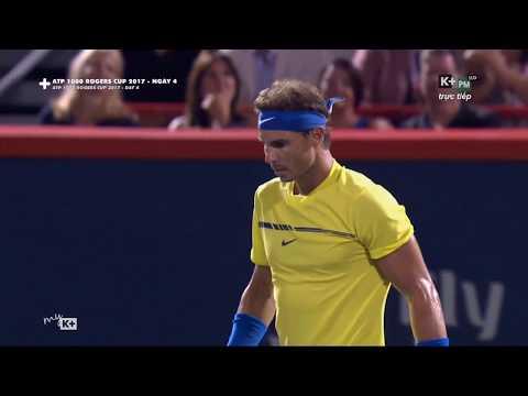 Rafael Nadal vs Denis Shapovalov Coupe Rogers Montreal 2017