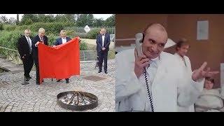 ZEMAN a TRENÝRKY vs. Chocholoušek (Prezident Miloš Zeman pálí červené trenýrky)