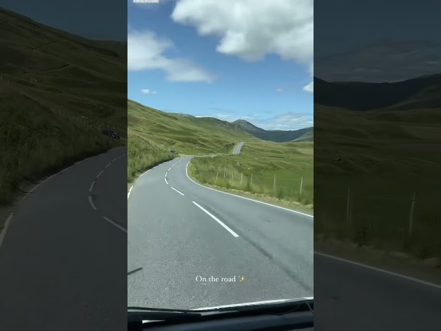 Road trips in Scotland ⛰🚐 #shorts