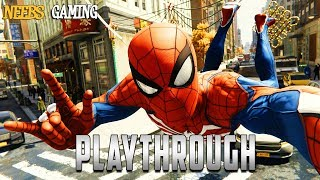 Spider-Man Playthrough: Fortnite and Eating What?!