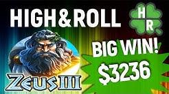 Play Zeus 3 Slot Machine Online  (WMS) Free  Bonus Game