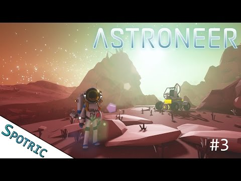 THE ORGANIC RESEARCHER!! - Astroneer: Ep 003