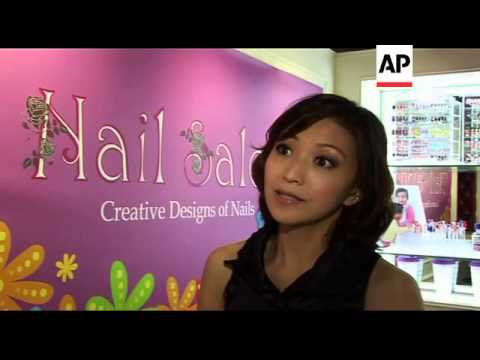 Tiny tots nail salon in Hong Kong
