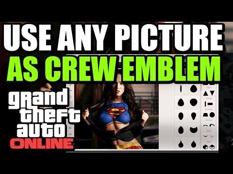 gta 5 online how to upload pictures to rockstar social club crew emblem editor tutorial guide. Black Bedroom Furniture Sets. Home Design Ideas