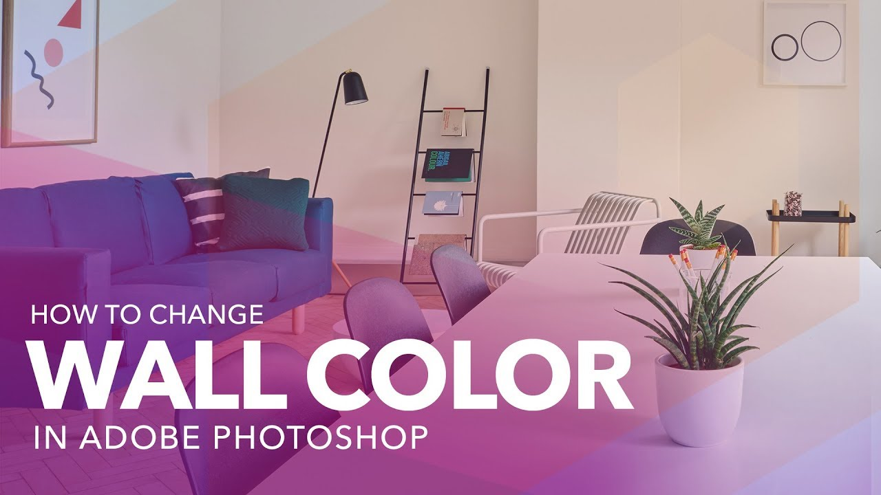 How To Change Wall Color In Adobe Photo