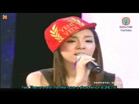 2NE1 Dara Interview on Entertainment Live [Eng Subbed]
