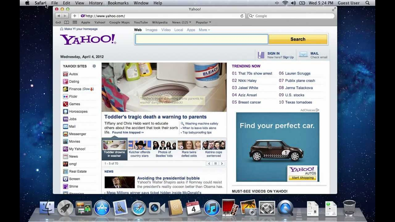 How to Change Your Home Page in Safari on Mac OS X
