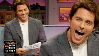 James Marsden Reads A Secret Letter From 'Sonic' Costar Ben Schwartz