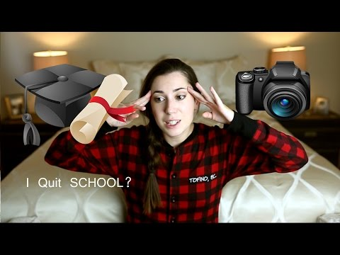 Why I Quit School to Become a Photographer, STORYTIME