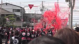 2012年 和泉市 信太・幸地区だんじり① セレモニー