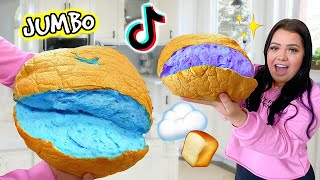 We Tested VIRAL Tiktok Life Hacks! Giant Cloud Bread, DIYS + More!