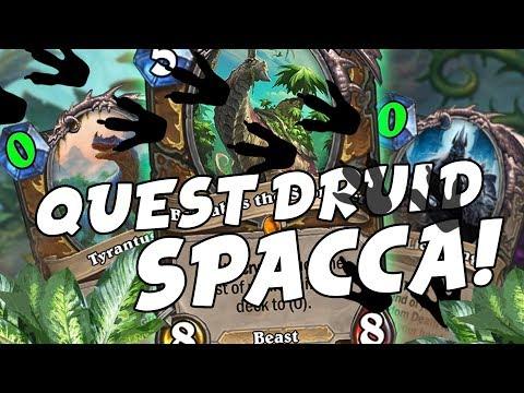 QUEST DRUID SPACCA TUTTO E TUTTI!! [HEARTHSTONE ITA]