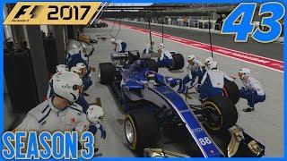 THE SAUBER CREW IS ON IT! |3/20| F1 2017 Sauber Career Mode S3. Episode 43