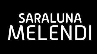 Melendi- Saraluna (Lyric video)