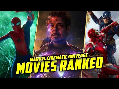 All 23 Marvel Cinematic Universe Movies RANKED!