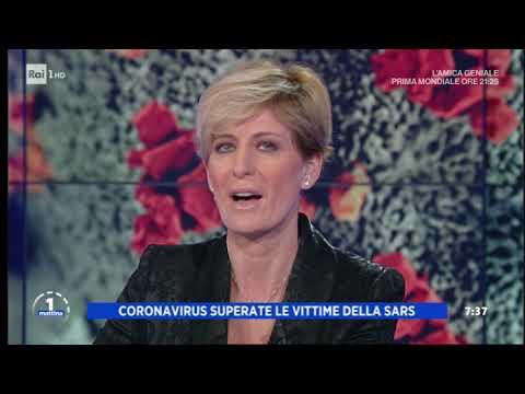 Coronavirus: peggio della SARS - Unomattina 10/02/2020