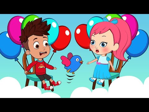Happy Birthday with Balloons   Funny Cartoons for Children #54   Animation for Kids   SM Cartoon TV