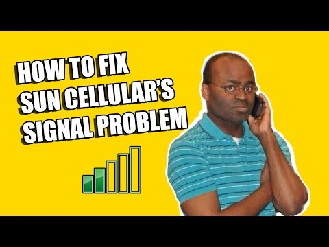How to Fix Sun Cellular's Signal Problem