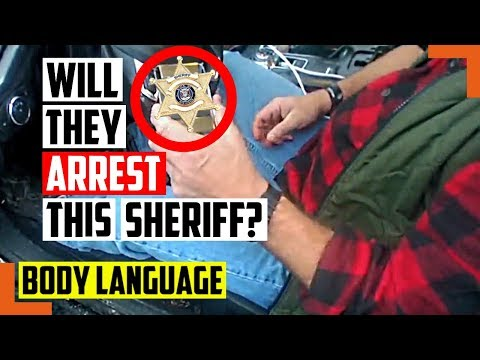 Watch This Sheriff Get Caught Drunk Driving, Will They Arrest Him or Cover It Up? – Body Language