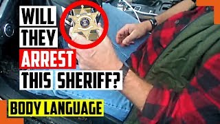 Watch This Sheriff Get Caught Drunk Driving, Will They Arrest Him or Cover It Up? - Body Language