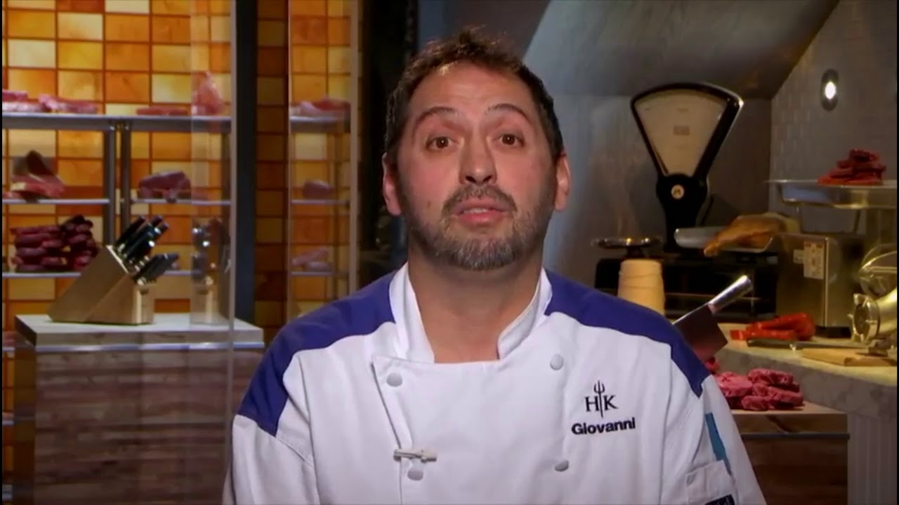 giovannis gameface hells kitchen season 17 - Hells Kitchen Season 17