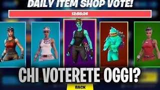 🔴 Who do I vote for today in the SHOP? Live Fortnite ITA Patch 10.30