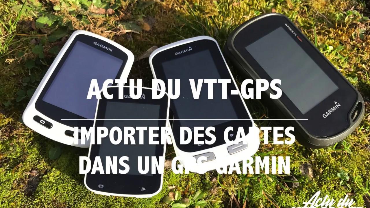 Telecharger Et Installer Gratuitement Des Cartes Sur Votre Gps Garmin Www Actuduvttgps Fr