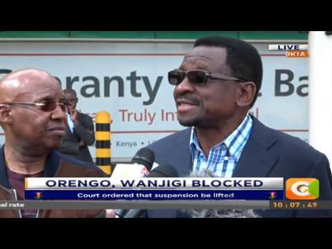 Citizen Extra:Senator James Orengo and Mr Wanjigi Blocked from leaving Kenya