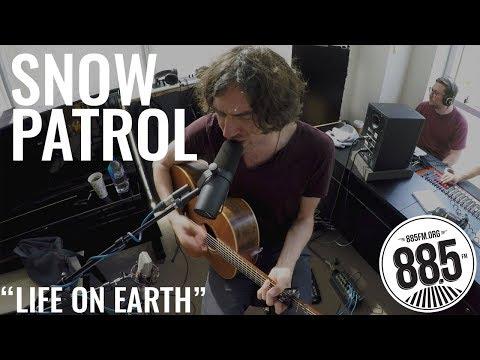 "Snow Patrol || Live @ 885FM || ""Life On Earth"""