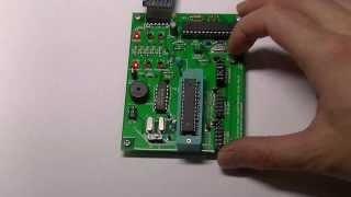 Arduinoのブートローダ書き込み器に圧電ブザーを付けてみた