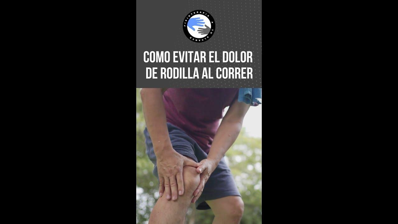 Como evitar el dolor de rodilla al correr