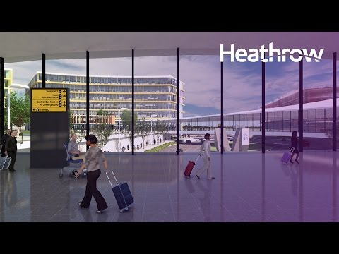 """It's time for Heathrow"" - new CGI fly through of Heathrow expansion plans"