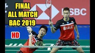 FINAL BAC 2019 | Marcus Fernaldi GIDEON/ Kevin Sanjaya SUKAMULJO vs Hiroyuki ENDO/ Yuta WATANABE