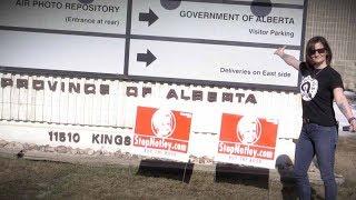 "Delivering ""Stop Notley"" lawn signs deep in NDP country! | Sheila Gunn Reid & Keean Bexte"