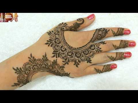 Stylish Elegant Henna Mehndi Designs For Hands|Gulf Heena Mehendi For Wedding By MehndiArtistica
