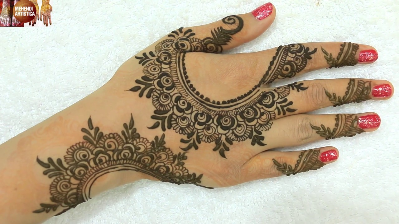 Elegant Henna Designs: Stylish Elegant Henna Mehndi Designs For Hands