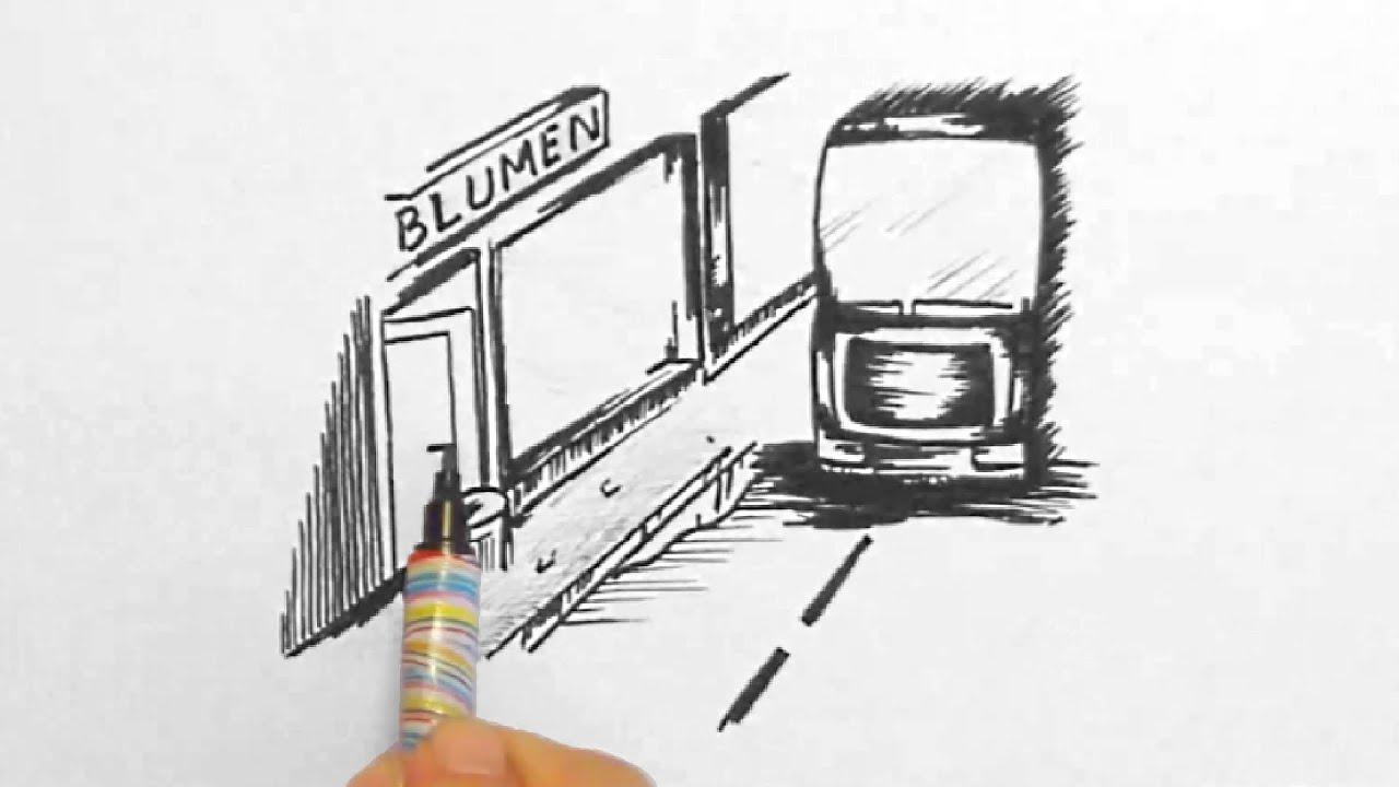 Skizze 6, LKW in der Stadt (Sketch 6, truck in town)[HD] - YouTube