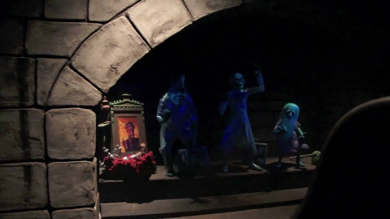 Lights On Peek At The Haunted Mansion During Evacuation