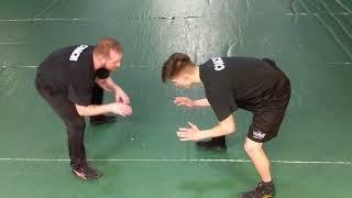 Wrestling Stance