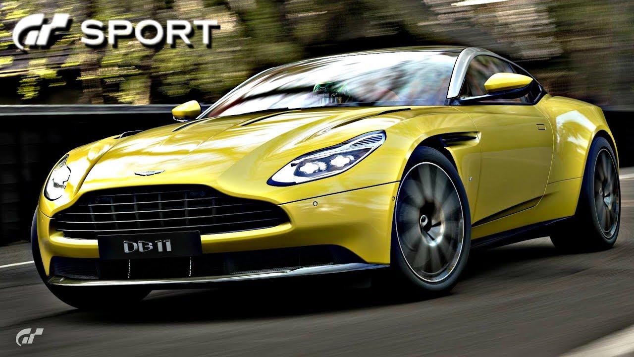 gt sport - aston martin db11 review - youtube