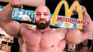 Fitness Essen bei McDonald
