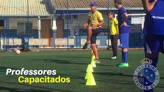 Diferenciais da Escola de Futebol Cruzeiro Clube