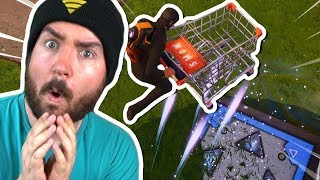 New FORTNITE Boostpad with SHOPPING-WIDE?! What happens?!