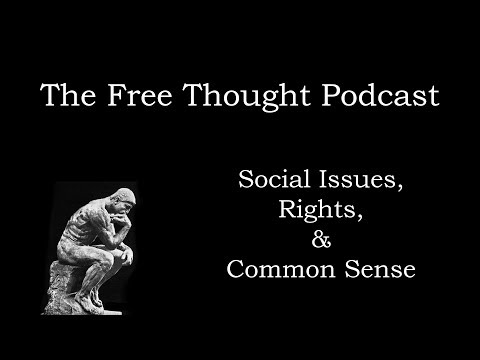 The Free Thought Podcast Episode 1 - Guns